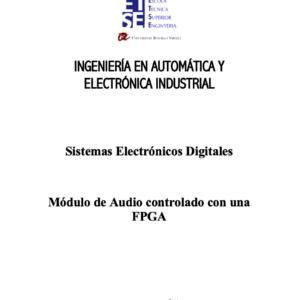 Módulo de Audio controlado con una FPGA