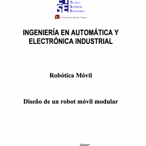 Diseño de un Robot Móvil Modular