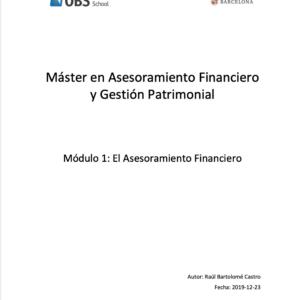 Análisis Financiero Personal Basado en Ejemplos – El Asesoramiento Financiero